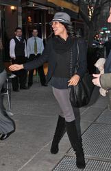 Розарио Доусон, фото 1461. Rosario Dawson leaves Da Silvano Restaurant in New York, december 23, foto 1461