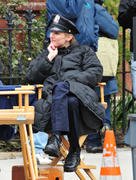 Лили Собески, фото 1172. Leelee Sobieski filming ''Rookies'' in NYC March 22, foto 1172