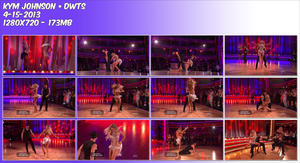 Kym Johnson ~ DWTS 4-15-13