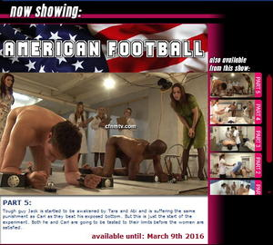 cfnmtv: American Football (Part 1-5)