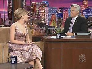 Scarlett Johansson - The Tonight Show with Jay Leno (2006)