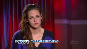Kristen Stewart - Access Hollywood,  November 24, 2012 - 720p  mp4  caps